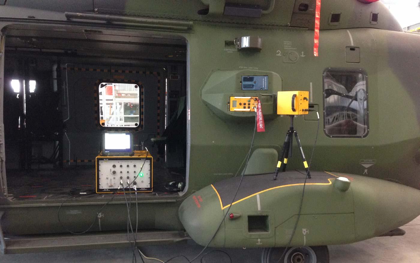 Spherea Germany – VeriDAS Helikopter