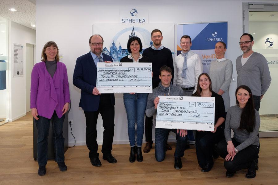 Spherea Germany – Radio-7-Drachenkinder Spendenaktion