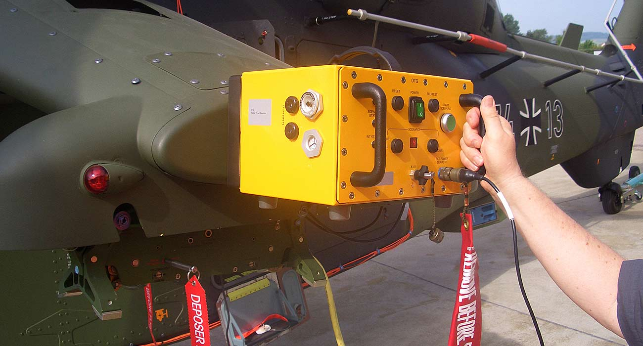 Spherea Germany – Flight Line Tester Helikopter